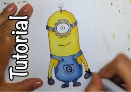 draw minion u0026 copic marker colouring tutorial