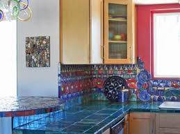 blue kitchen tiles hot décor trend 24 tile kitchen countertops digsdigs