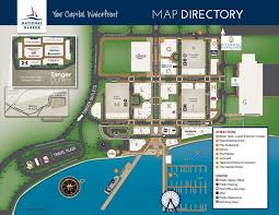 national harbor map explore national harbor the hugeconvention