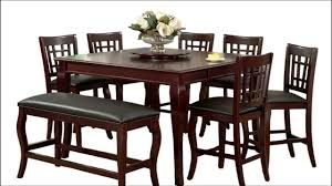 square dining table with built in lazy susan youtube