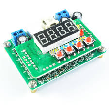 Jual Dc Step dc dc b3603 lm2596s modul step modul buck plus display
