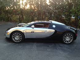 chrome wrapped cars buggati veyron wrapped in chrome car chat with auto supershield