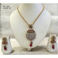 antique jewelry necklace sets images India gold plated necklaces jewelry sets from asansol manufacturer jpg