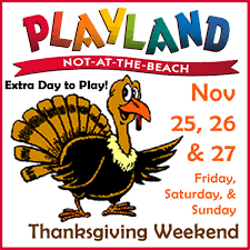 thanksgiving day weekend at playland not at the at playland