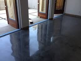 Paint Concrete Floor Ideas by Interior Minimalist Home Interior Design Ideas Using Stained
