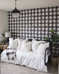 magnolia home buffalo check black and white wallpaper mh1516 u2013 d