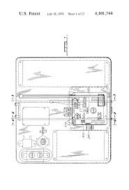 patent us4101744 circuit breaker racking mechanism for drawout