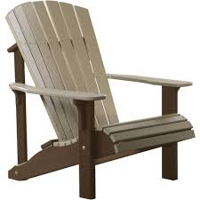 Recycled Plastic Outdoor Furniture Luxcraft Deluxe Recycled Plastic Adirondack Chair Products