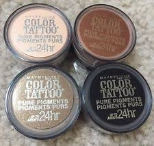 maybelline color tattoo barely ebay