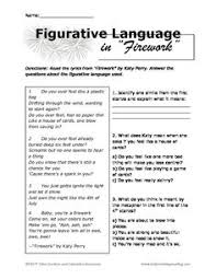 figurative language worksheets englishlinx com board pinterest