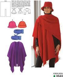 kwik sew 3543 hats mittens and shawl
