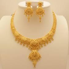gold set 22 carat indian gold necklace set 72 3 grams gold forever