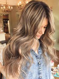 light brown hair color over blonde highlights what is the best way