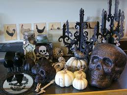 indoor halloween party ideas halloween decorating ideas indoor with black white displays on