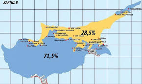 map of cyprus cypriot newspaper presents map of cyprus after and