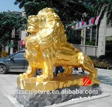 gold lion statues gold lion statue gold lion statue suppliers and manufacturers at