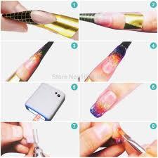 aliexpress com buy 500 pcs nails gel extension sticker nail art