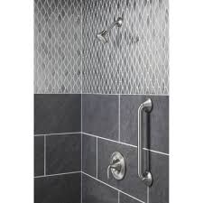 Moen Eva Faucet Brushed Nickel Moen T2132 Eva Chrome One Handle Shower Only Faucets Efaucets Com