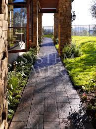 Backyard Walkway Designs - walkway pavers front walkway u0026 garden landscape walkways