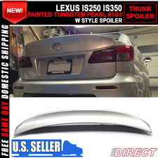 lexus is250 body kit australia 06 13 lexus is250 is350 ik style trunk spoiler painted tungsten