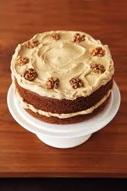 coffee and walnut layer cake nigella u0027s recipes nigella lawson