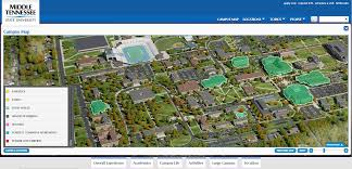 San Jose State University Map by Graphical Layers On Interactive Campus Maps