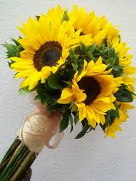 sunflower bouquet best 25 sunflower bridal bouquets ideas on sunflower