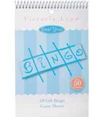 bridal gift bridal gift bingo sheets 50 pk joann