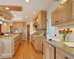 Natural Birch Kitchen Cabinets by Natural Birch Cabinet Home Design Ideas Pictures Remodel And