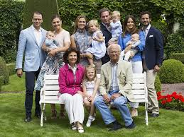 see the glamorous swedish royal family summer portrait