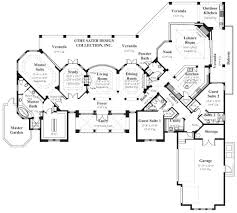 monticello second floor plan home plan della porta sater design collection