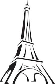 simple eiffel tower drawing eiffel tower drawing simple clipart