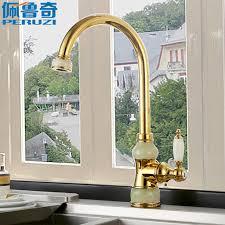 european kitchen faucets peruzzi jade gold european kitchen faucet rotating