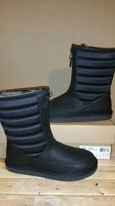 ugg australia sale ebay ugg australia zaire black leather s water resistant boots
