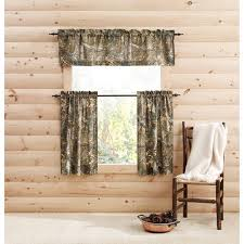 Pinch Pleated Semi Sheer Curtains Realtree Bedding Camouflage Semi Sheer Pinch Pleat Curtain Panels