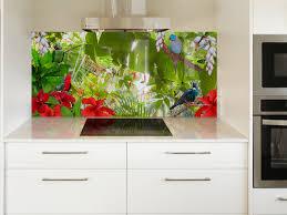 modern kitchen splashback printed u0027images on glass u0027 kitchen splashbacks and glass wall art