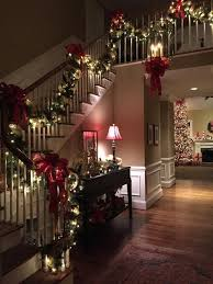 christmas decorations at home pin by pat curry on christmas decorating pinterest staircases