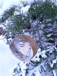 easy birch bark tree ornaments 6 steps with pictures