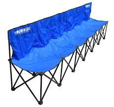 amazon com kwik goal 9b906 6 seat kwik bench soccer nets