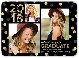 graduation announcements spectacular confetti 5x7 announcement graduation announcements
