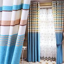 Striped Living Room Curtains by Compare Prices On Curtains In Blue Stripes For Living Room Online