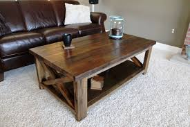 coffee tables beautiful brown rectangle lacquered wood rustic