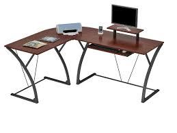 Computer Desk L Shape Latitude Run Murdock L Shape Computer Desk Reviews Wayfair