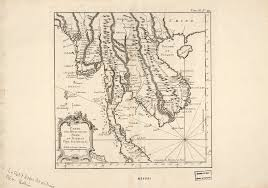 I Am America Map by Map Of The Kingdoms Of Siam Tunquin Pegu Ava Aracan World