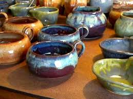Glazed Ceramic Pots Pottery Glazing Video 1 Youtube