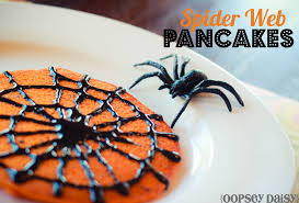 halloween pancakes spider web pancakes oopsey daisy