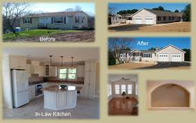 Ranch House Bathroom Remodel Additions Garages Remodeling Projects Carroll County Finished