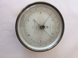 Garden Wall Clocks by Met Office Barometer By J Hicks C 1920 England From Richard