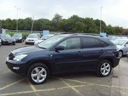 lexus 300 rx 2004 used lexus rx 2004 blue colour petrol 300 3 0 se l 5 door 4x4 for
