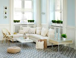living room decorations aluminum blind in window with white l